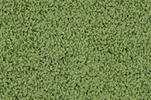 """Kidply Soft Solids Rug Size: Rectangle 8'4"""" x 12', Color: Grass Green"""
