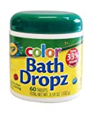Play Visions Crayola Bath Dropz 3.59 oz,60 TABLETS
