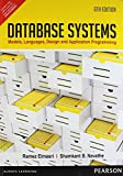 Fundamentals of Database Systems: Models,Languages,Design and Application Programming by Ramez Elmasri (2013) Paperback