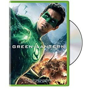 Green Lantern Movie on DVD