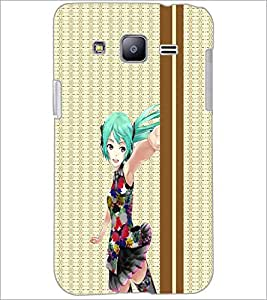 PrintDhaba Cute Doll D-3784 Back Case Cover for SAMSUNG GALAXY J2 (Multi-Coloured)