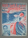 img - for Red Sails In The Sunset book / textbook / text book