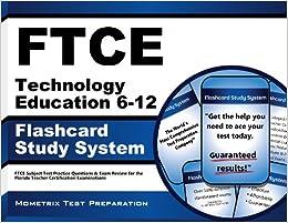 Ftce Technology Education 6 12 Flashcard Study System