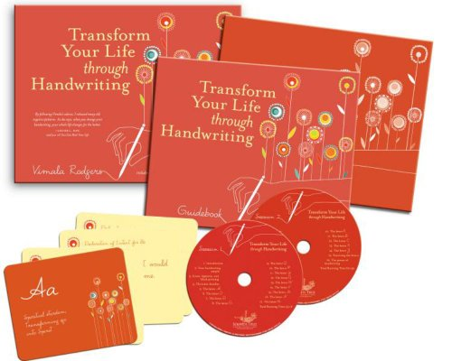 Transform Your Life Through Handwriting [With Cards and Note Pad and Study Guide] (Book & CD)