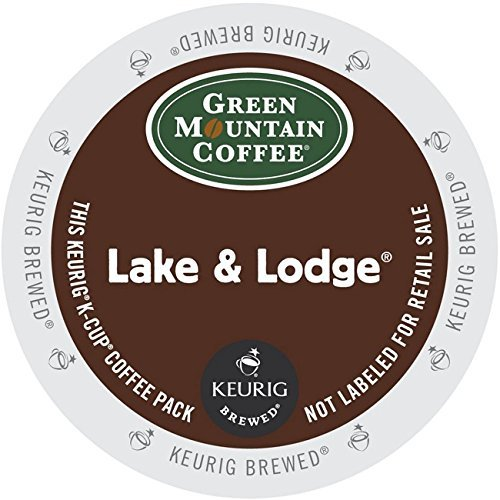 Green Mountain Coffee Dark Roast K-Cup for Keurig Brewers, Lake and Lodge Coffee, 96 Count by Green Mountain Coffee (Keurig Coffee Lake And Lodge compare prices)