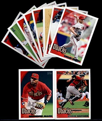2010 Topps Baseball Cards Complete TEAM SET: Arizona Diamondbacks (Series 1 & 2) 21 Cards including Reynolds, Webb, Haren, Montero, Davis, Tracy, Upton, Byrnes, Drew & more!