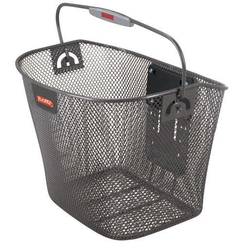 Rixen & Kaul KlickFix Uni bicycle basket - anthracite