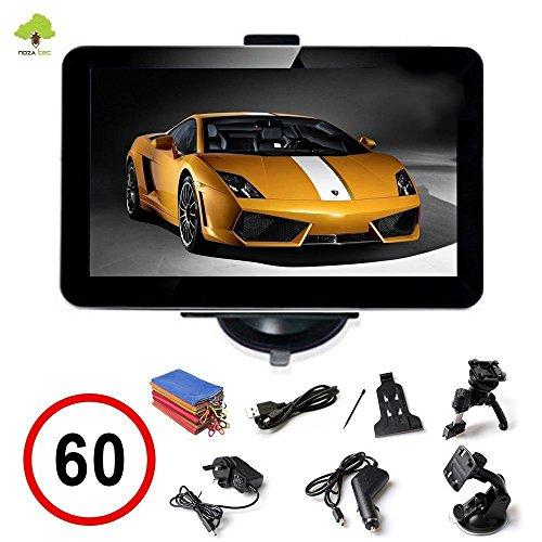 7-Zoll-PKW-Car-Auto-KFZ-Europe-Traffic-GPS-Navi-Navigation-Navigationssystem-Navigationsgert-Neueste-Map-EU-Karten-POI-Blitzerwarnungen-4GB