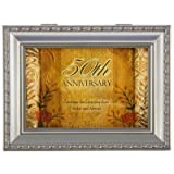 50th Anniversary Musical Jewelry Box or Gift Card Holder - 50th Wedding Anniversary Gift