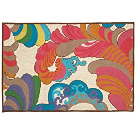 Trina Turk for Peking Handicraft Coachella 27 by 40-Inch Hook Rug