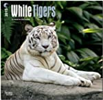 White Tigers 18-Month 2015 Calendar