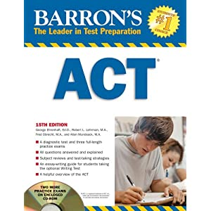 The Top Ten ACT Prep Books