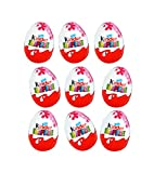 Kinder Surprise Disney Princess Chocolate Eggs, with toy inside [Pack of 9]