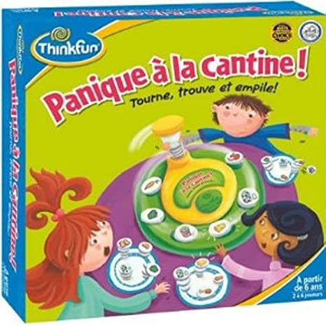 ThinkFun - TFSA01 - Jeu enfants - Panique à la Cantine
