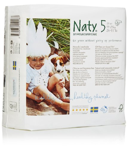 Naty Diapers - Size 5 - 23 ct - 1