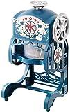 ドウシシャ 電動本格ふわふわ氷かき器 ブルー DCSP-1651