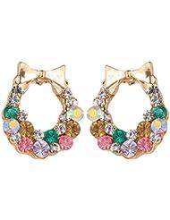 Gorigama Trendy Fashionable Multicolour Earrings For Girls Fancy Party Wear Trendy Latest Earrings For Girls.