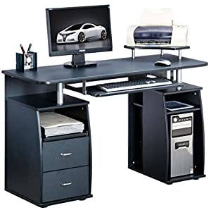 Genuine Piranha Tetra Computer Desk with Shelves, Cupboard & Drawers for a Home Office PC5g