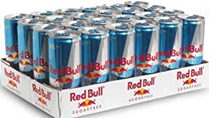 Red Bull Red Bull Sugar Free 24 x 8.4 Oz