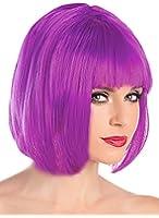 Costume Adventure Women's Short Neon Colored Bob Costume Wig