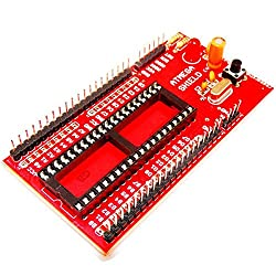 ATMEGA Mini Project Board for Atmega External TX,RX, GND Quartz crystall 16Mhz