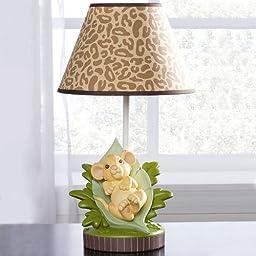 Disney Simba Lion King Lamp Base and Shade for Baby Nursery Jungle Theme