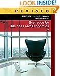 Statistics for Business & Economics,...