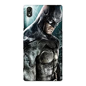 Special Green Knight Typo Back Case Cover for Sony Xperia Z1