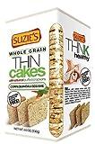 Suzie's Suzies Corn, Quinoa And Sesame Thin Cakes, 4.5 oz, 6 pk