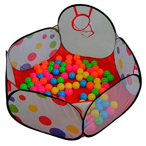 【選べる3サイズ】 子供 用 ボール プール 知育玩具 屋内遊具 (100cm)