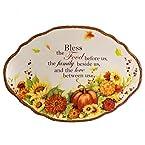 Oval Bless Platter