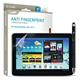 Samsung Galaxy Tab 2 10.1 Screen Protector Sentey® Anti Fingerprint Invisible Tablet 0.13mm Ls-13221 Bundle with Free Metal Stylus Touch Screen Pen {Lifetime Warranty}