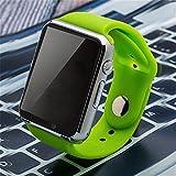 IOSのAndroidスマートウォッチのためのTF SIMカードカメラの腕時計とブルートゥーススマートウォッチW8サポートのWhatsApp