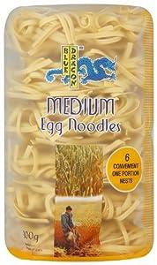 Blue Dragon Medium Egg Noodle Nests 300 g (Pack of 8)