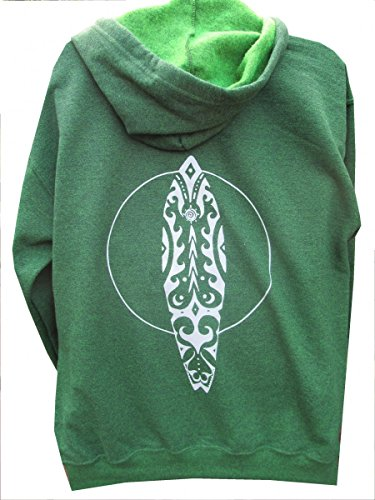 Tree of Life Zip up Hooded Sweatshirt (Body Shop Clothing compare prices)