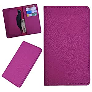 DCR Pu Leather case cover for XOLO Q610s (pink)