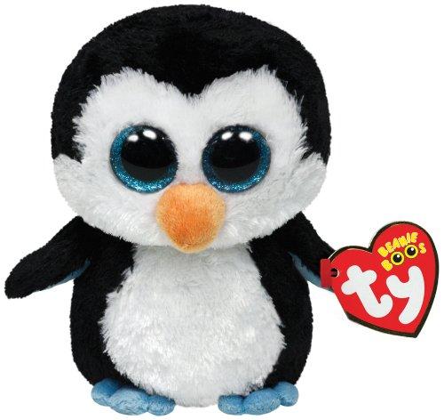 Ty Beanie Boos Waddles - Peluche de pingüino