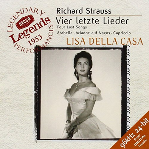 Strauss: Four Last Songs / Arabella / Ariadne auf Naxos / Capriccio