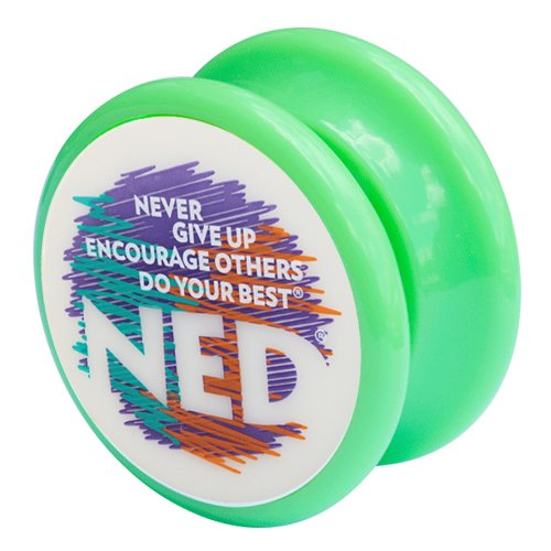 NED® Yo-Yo (Green) Glow-in-the-dark face - 1