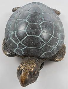 Spi 30553 brass beach tiki sea turtle door knocker coastal reef sea turtle - Turtle door knocker ...