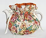 Pansies Print Tea Pot Cozy - Fits 6 Cup Teapot - Reversible - Tea Pot Not Included