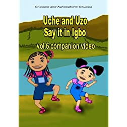 Uche and Uzo Say it in Igbo vol.6 companion video