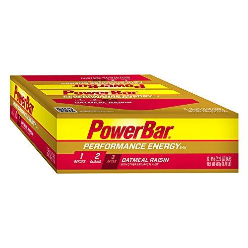 POWERBAR Food Performance Oatmeal Rasin (Box of 12) (Powerbar Energy Wafer compare prices)