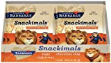 Barbara's Bakery Snackimals Animal Coookies, Chocolate Chip, 6 1-Ounce Packages (Pack of 6)