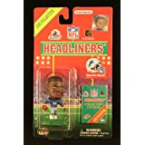 HERMAN MOORE / DETROIT LIONS * 3 INCH * 1998 NFL Headliners Football Collector Figure ~ Headliners