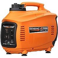 Generac iX2000 2000W Gasoline Portable Generator (Orange) - Manufacturer Refurbished
