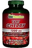 Tart Cherry Extract 1200 Mg 90 Capsules