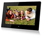 Sungale PF1501 14-Inch Full Function Digital Photo Frame (Black)