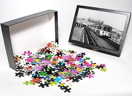 Photo Jigsaw Puzzle Of Pier Train/Southend