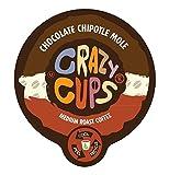 51vubXP6kGL. SL160  Crazy Cups Chocolate Chipotle Mole Flavored Coffee Single Serve Cups (88 count)